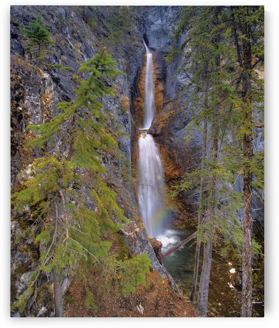 Silverton Waterfalls Banff National Park, Alberta, Canada by PacificStock