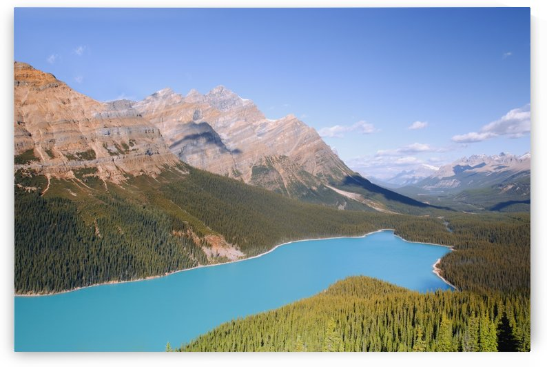 Peyto Lake, Banff National Park, Alberta, Canada by PacificStock