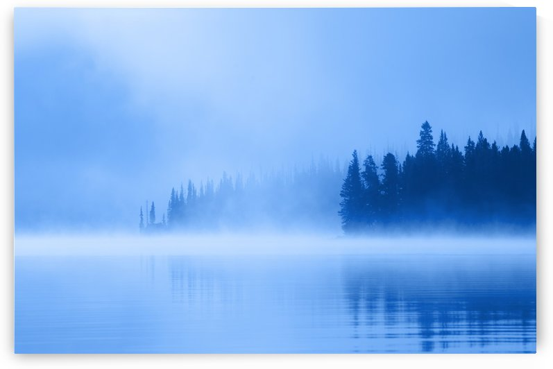 Foggy Lake by PacificStock