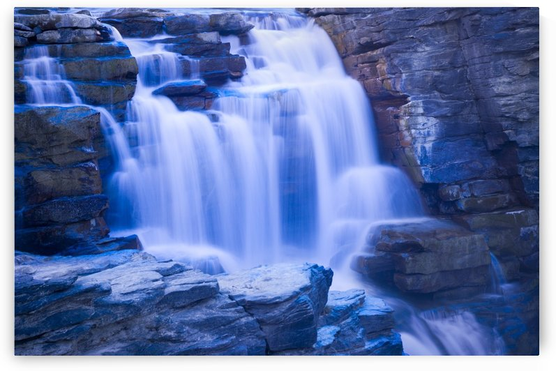 Athabasca Falls by PacificStock