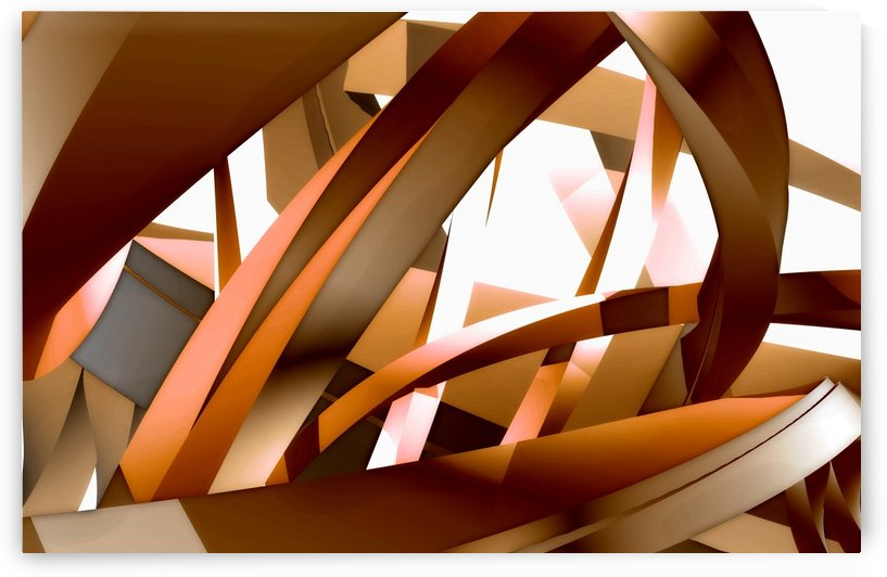 Close-Up View Of An Abstract Design by PacificStock