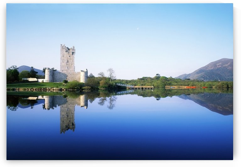 Lough Leane, Ross Castle, Killarney National Park, County Kerry, Ireland by PacificStock