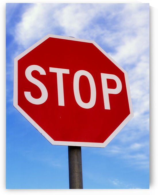 Stop Sign; Ireland by PacificStock