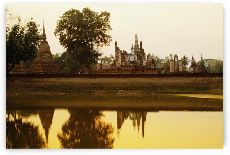 Sukhothai Historical Park In Thailand by PacificStock