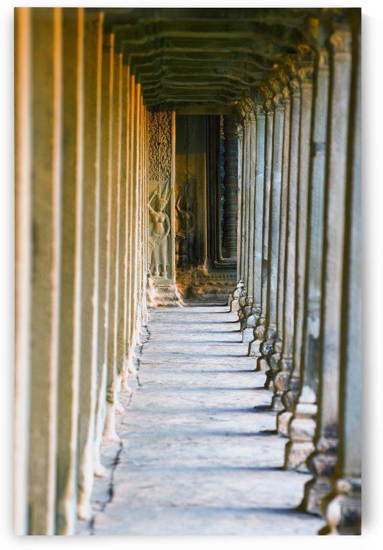 Bas Reliefs Of Hindu Myths At Angkor Wat, Angkor, Cambodia by PacificStock