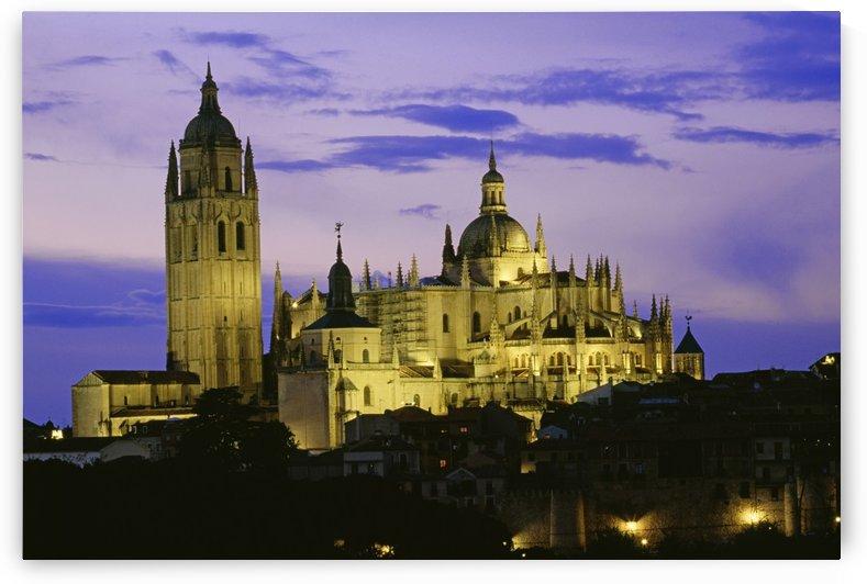 Segovia Cathedral, Segovia, Castile And Leon, Spain by PacificStock