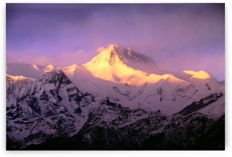 Annapurna South At Sunrise, Nepal by PacificStock