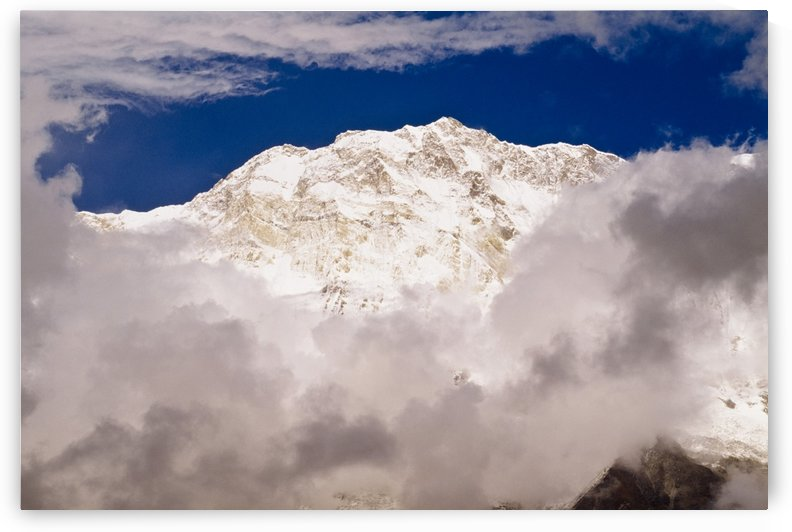Aerial View Of Mountains, Annapurna Sanctuary, Nepal by PacificStock