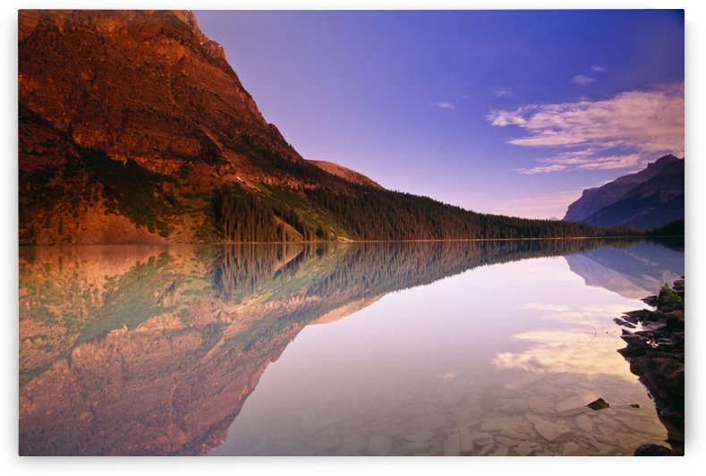 Cerulean Lake, Mount Assiniboine Provincial Park, British Columbia, Canada by PacificStock