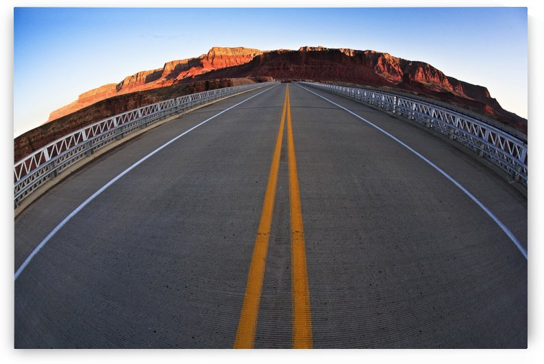 Road In The Grand Canyon, Arizona, Usa by PacificStock