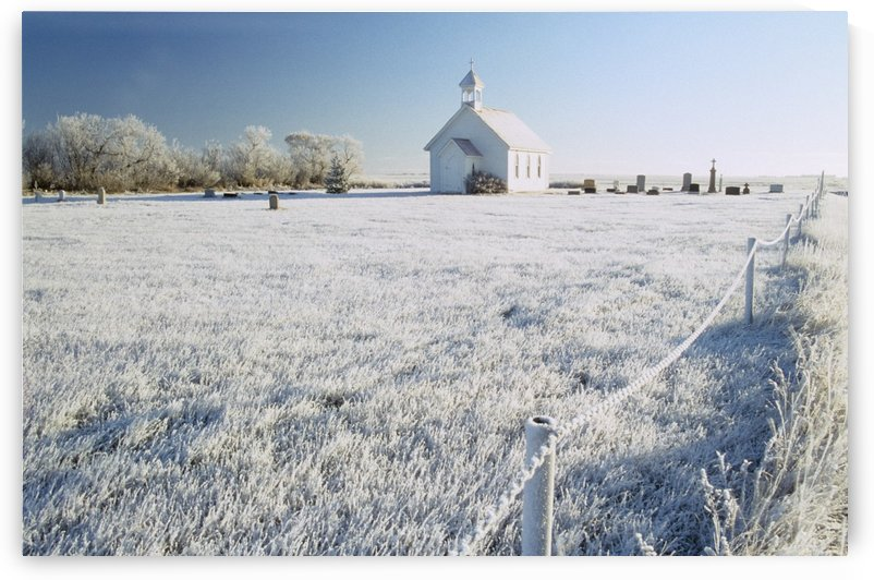 Saint Columba Anglican Church, Tuxford, Saskatchewan, Canada by PacificStock
