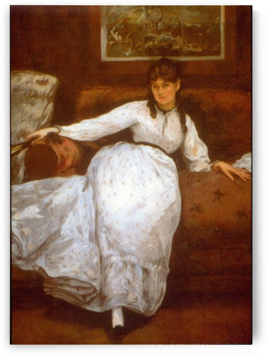 Berthe Morisot by Manet by Manet