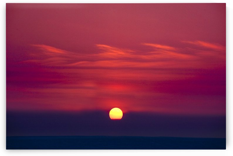 Red Sky And Sunset by PacificStock