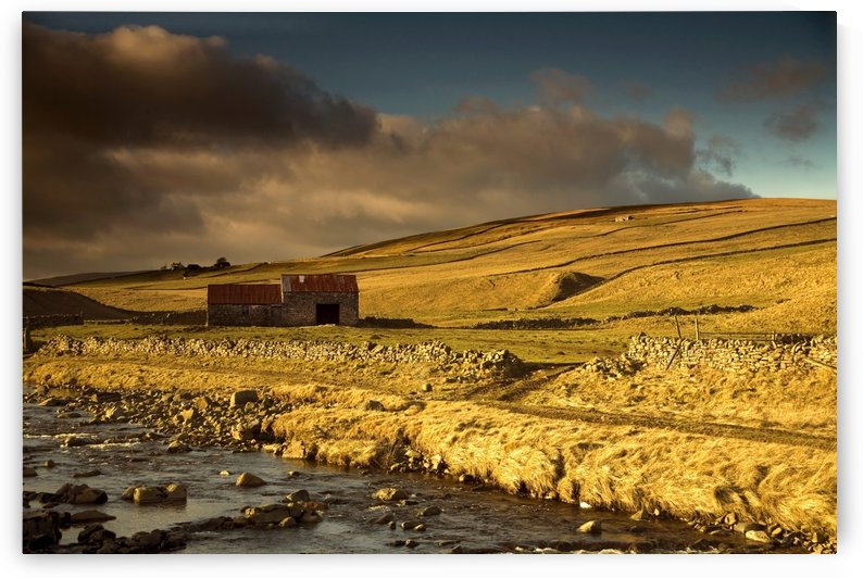 Shed In The Yorkshire Dales, England by PacificStock