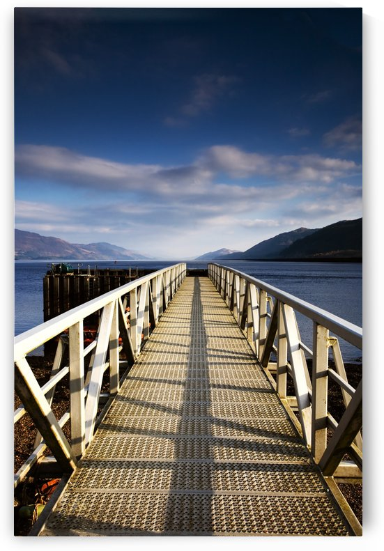 Fishnish Ferry Terminal, Isle Of Mull, Scotland by PacificStock