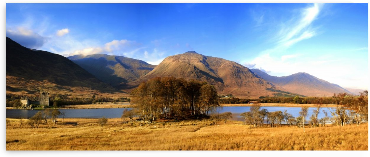Kilchurn Castle, Loch Awe, Scotland by PacificStock