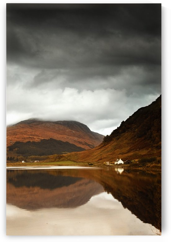 Mountain Lake, Loch Sunart, Scotland by PacificStock