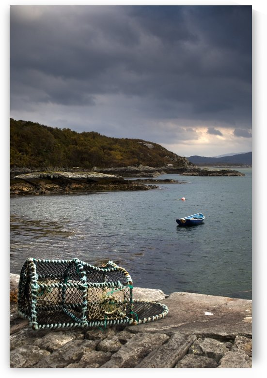 Boat In The Water, Loch Sunart, Scotland by PacificStock