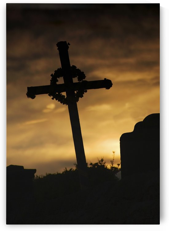 Cross At Sunset by PacificStock