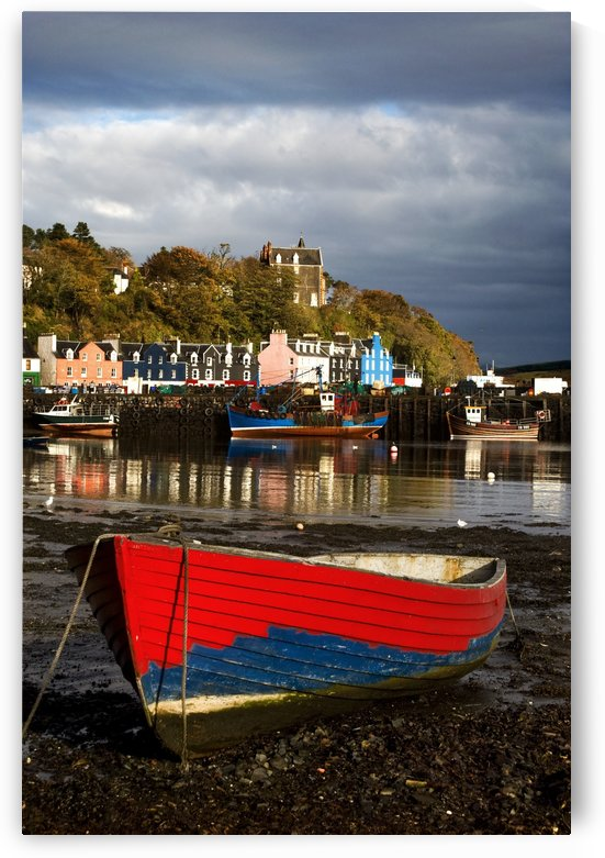 Rowing Boat On The Island Of Tobermory, Scotland by PacificStock