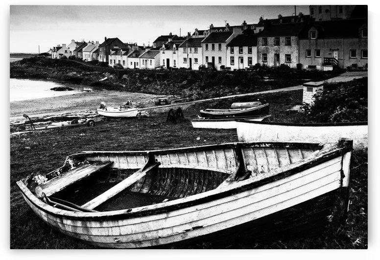 The Village Of Portnhaven, Scotland by PacificStock
