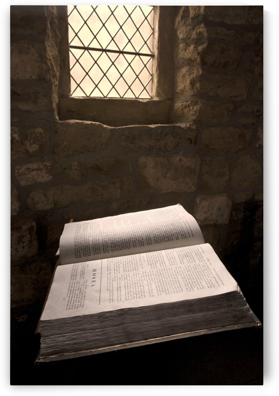 Bible In A Church, Rosedale, North Yorkshire, England by PacificStock