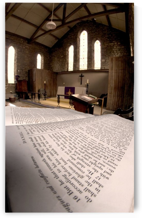 Church, Rosedale, West Yorkshire, England by PacificStock