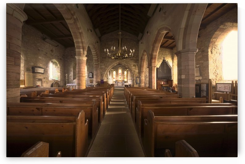 Church Sanctuary, Holy Island, Bewick, England by PacificStock