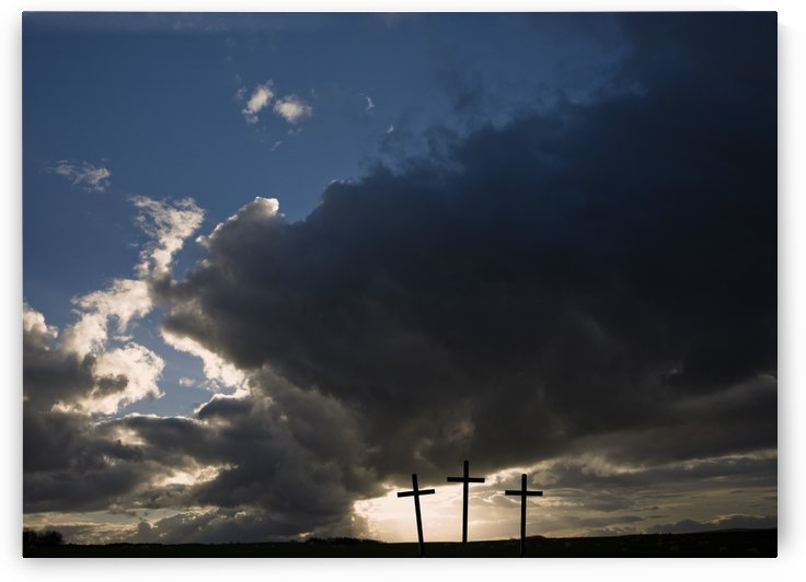 Three Crosses, West Yorkshire, England by PacificStock