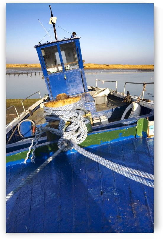 Fishing Boat, Amble, Northumberland, England by PacificStock