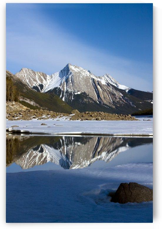 Medicine Lake, Jasper National Park, Alberta, Canada by PacificStock