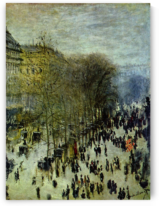 Boulevard of Capucines by Monet by Monet