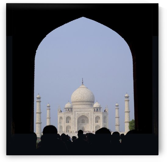 Taj Mahal, Agra India by PacificStock
