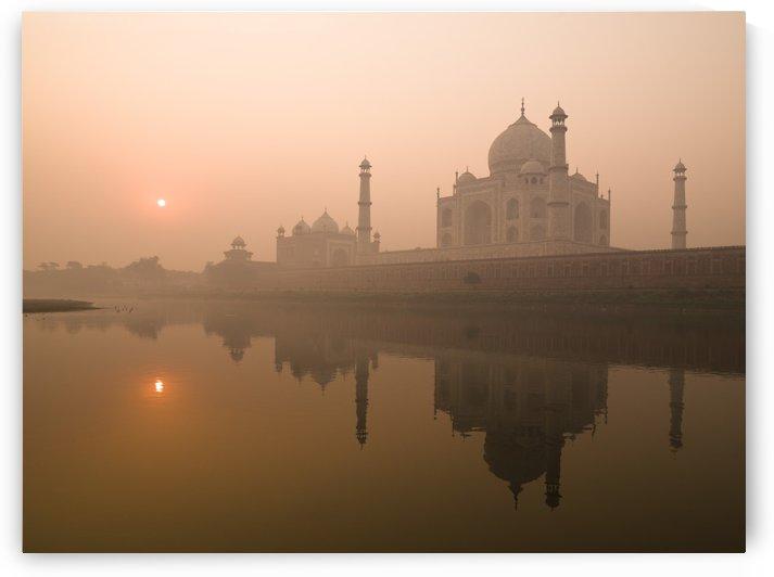 Taj Mahal, Agra, India by PacificStock