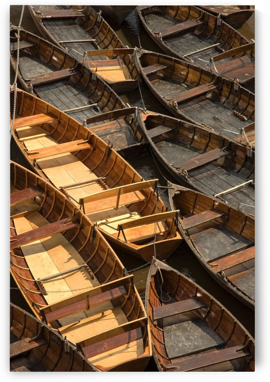Wooden Boats by PacificStock