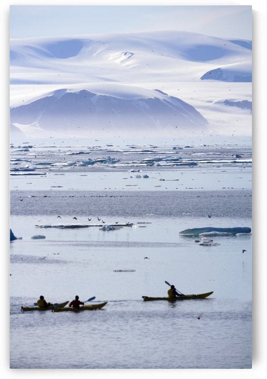 Kayaking, Nunavut, Canada by PacificStock