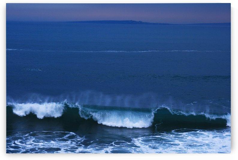 Burren Coast With Inisheer, Ireland by PacificStock