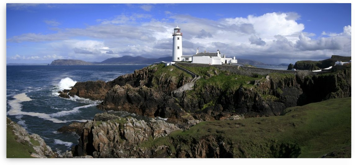 Fanad Lighthouse, Fanad, County Donegal Ireland by PacificStock