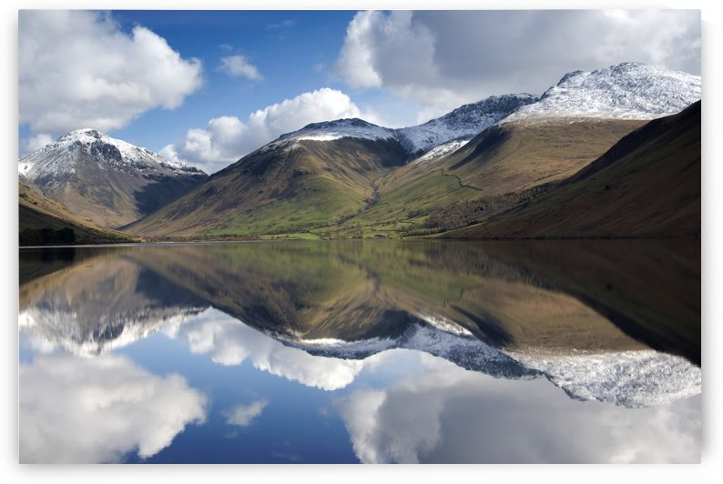 Mountains And Lake, Lake District, Cumbria, England, United Kingdom by PacificStock