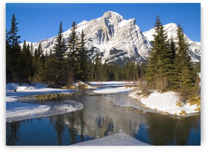 Mount Kidd, Banff National Park, Alberta, British Columbia, Canada by PacificStock