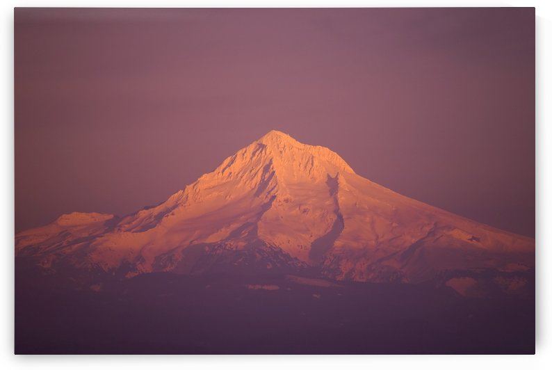 Sunset, Mount Hood, Oregon, United States Of America by PacificStock