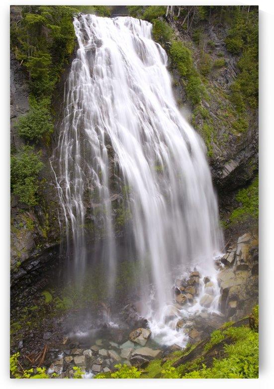 Narada Falls, Mount Rainier National Park, Washington State, United States Of America by PacificStock