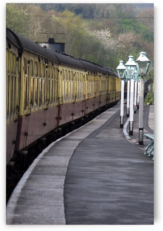 Train Station, Grosmont, North Yorkshire, England by PacificStock
