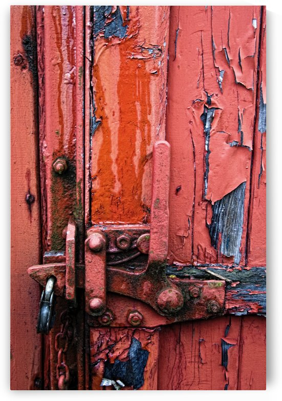 Weathered Lock by PacificStock
