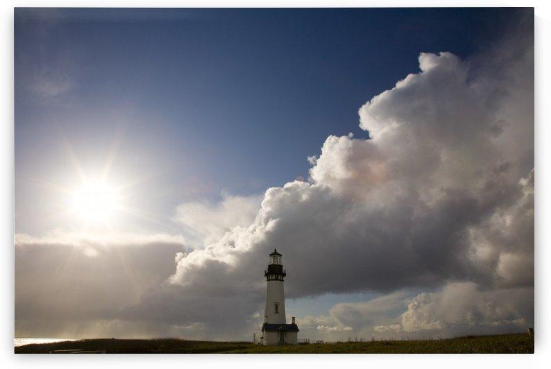 Yaquina Head Lighthouse, Oregon Coast, Usa by PacificStock