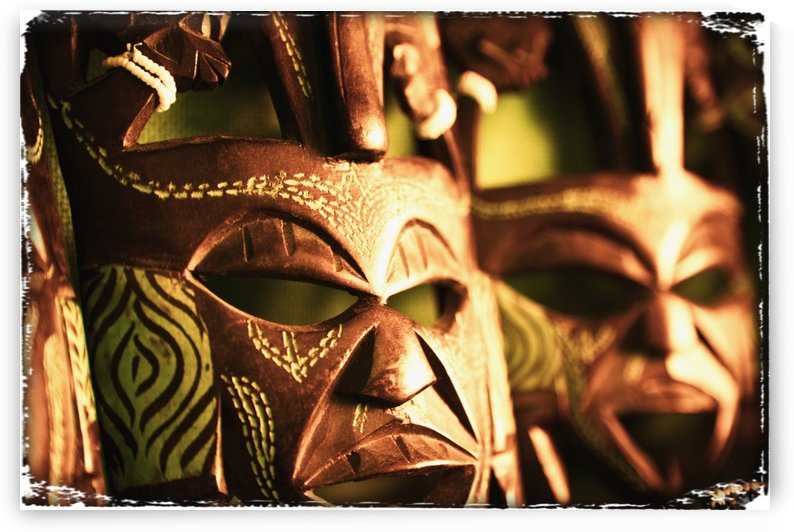 African Masks by PacificStock