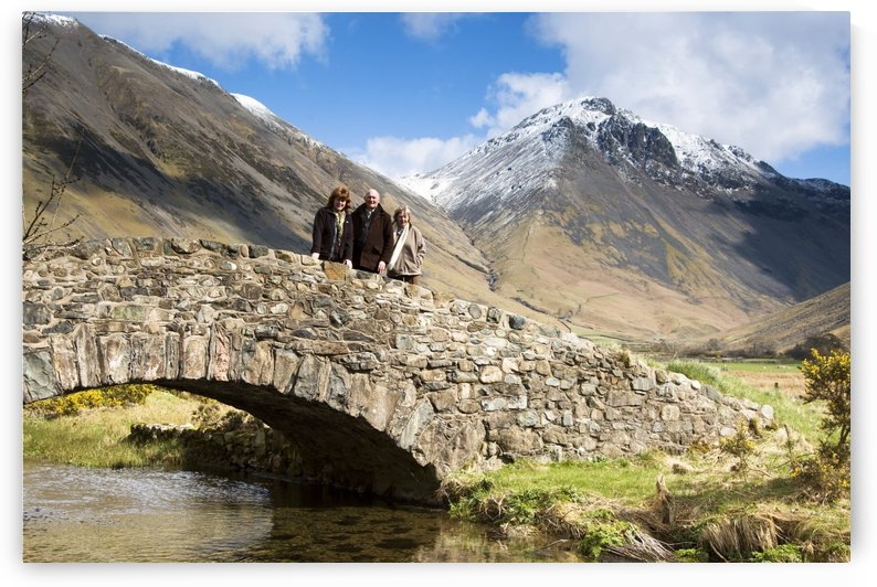 Bridge In Lake District Cumbria England by PacificStock