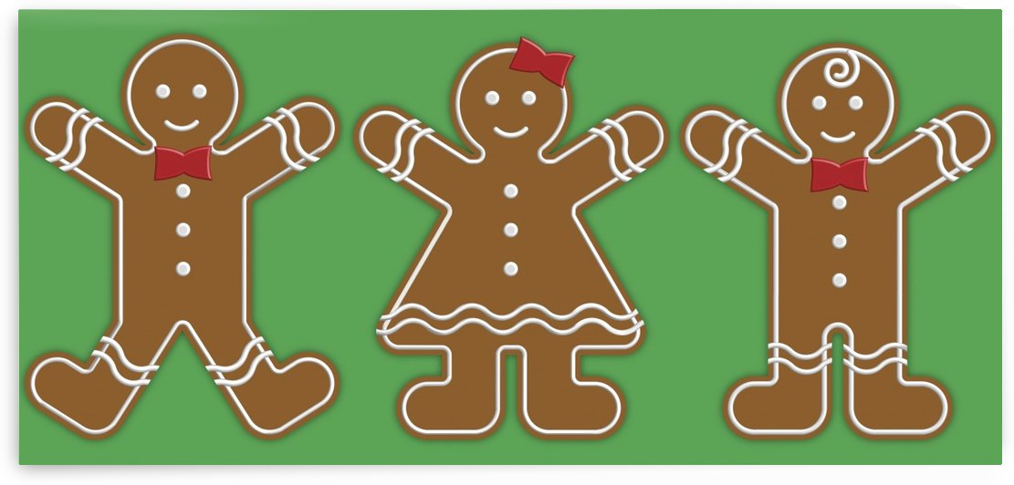Gingerbread People by PacificStock