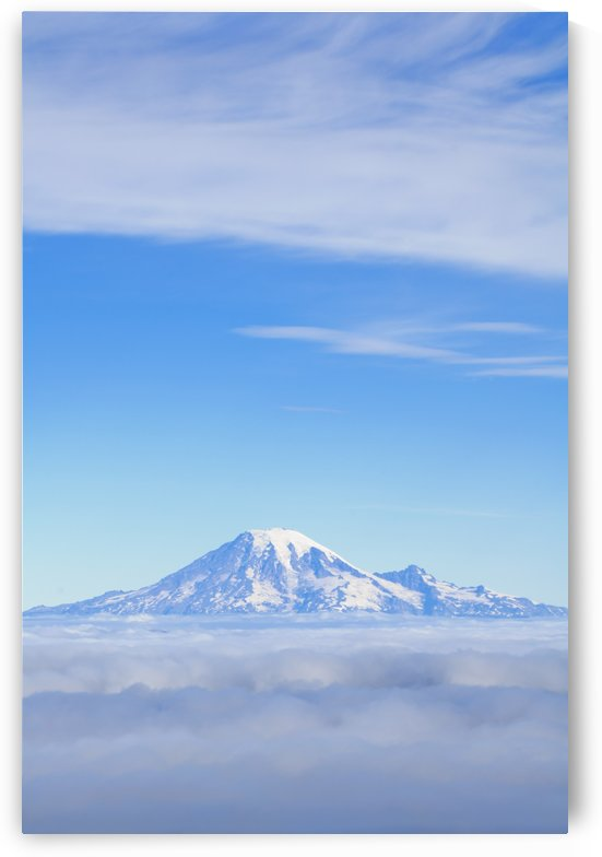 Fog, Mount Rainier, Washington Cascades, Washington, United States Of America by PacificStock