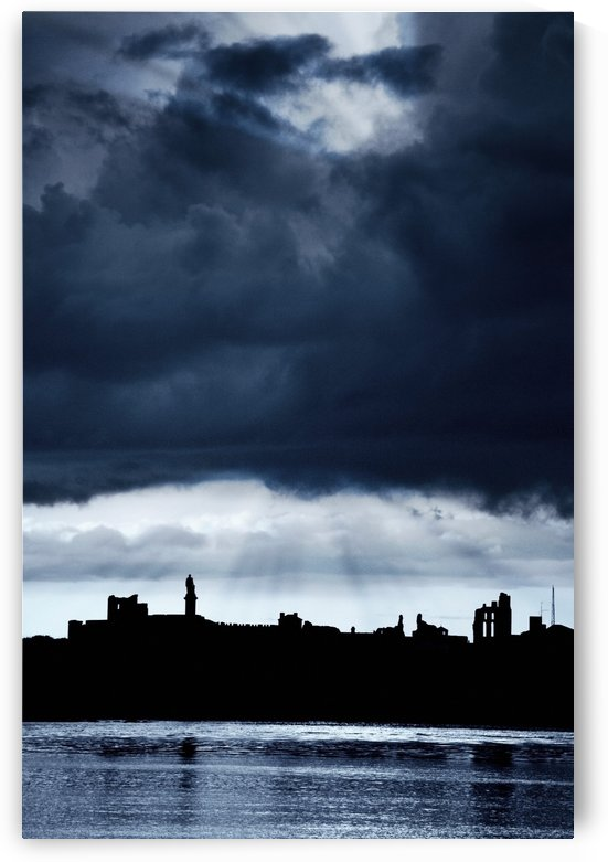 Storm Over City, Tyne And Wear, England by PacificStock